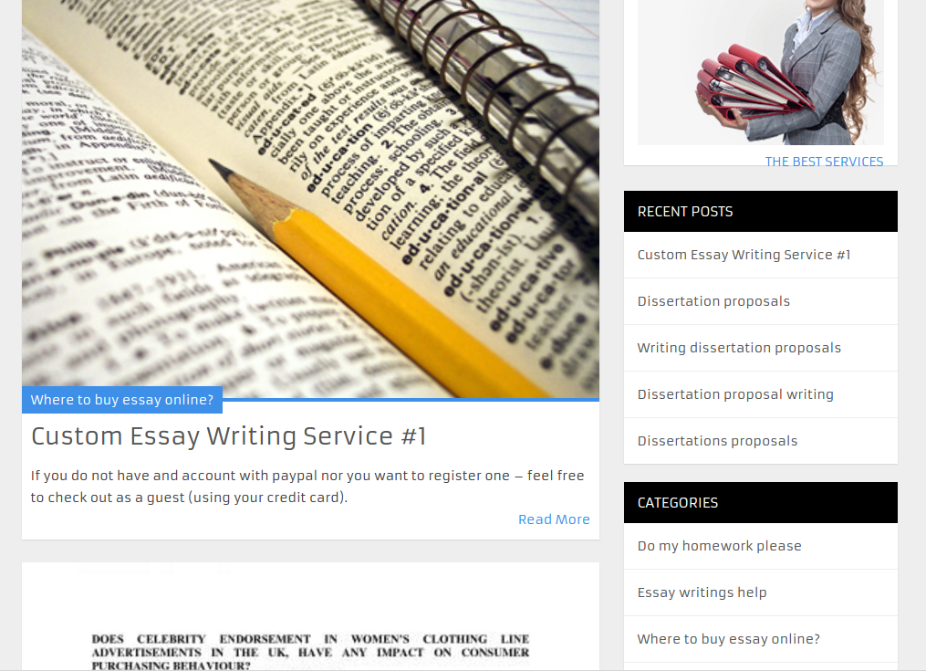 custom papers writing services You have stumbled upon one of the best custom writing services online if you are stressed by tons of assignments - our professional academic help is here to let you get customized papers at reasonable prices.