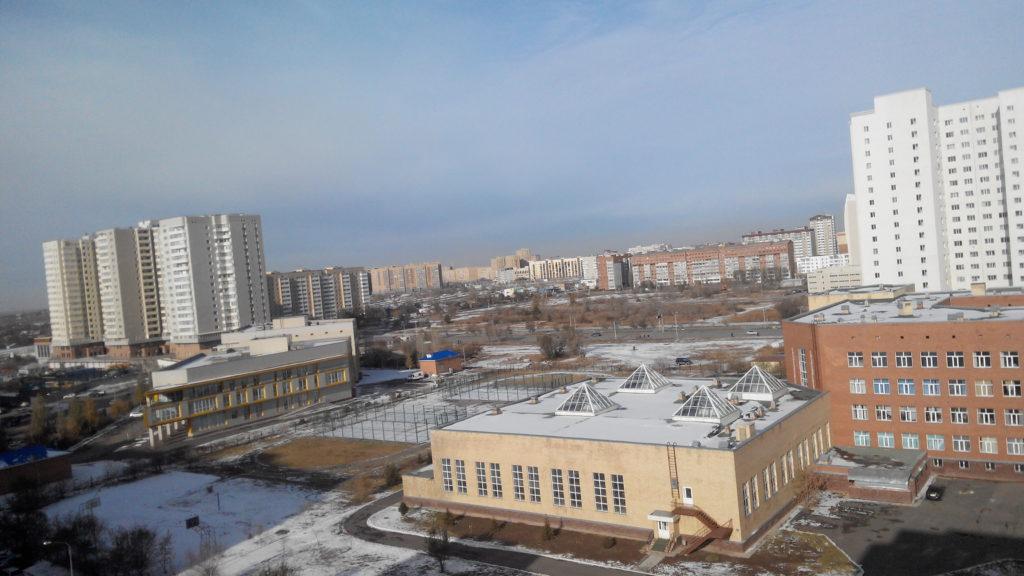 Вид из окна моего жилища